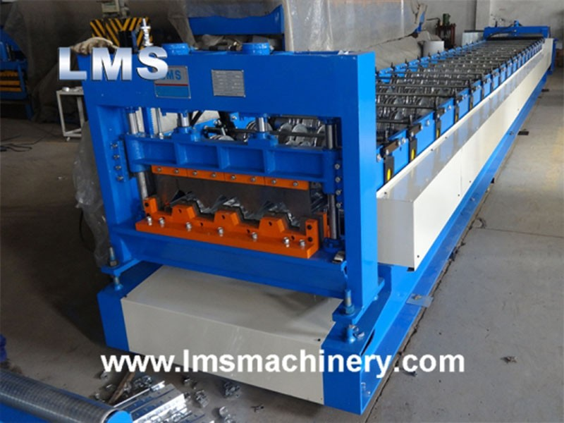 LMS Floor Decking Roll Forming Machine